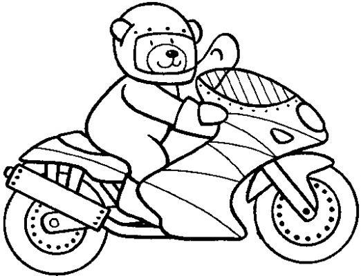 Moto coloring #13, Download drawings