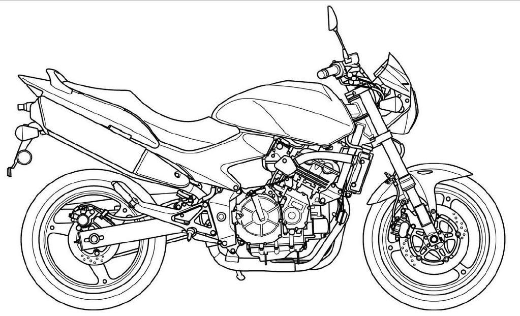 Motos coloring #20, Download drawings