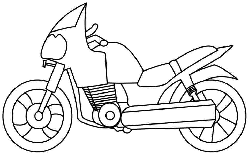 Moto coloring #18, Download drawings