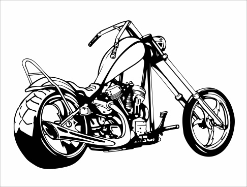 motorcycle svg free #13, Download drawings