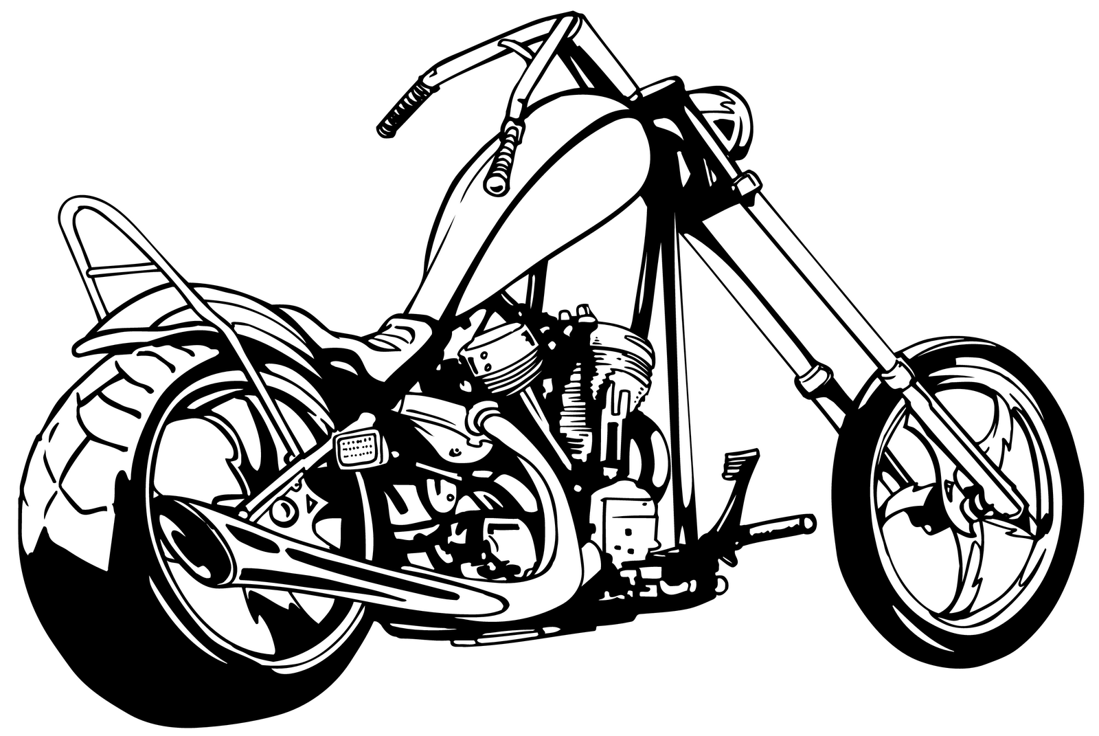 Motos clipart #2, Download drawings