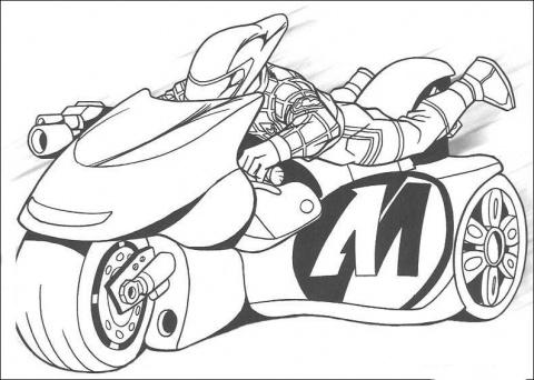 Motos coloring #13, Download drawings