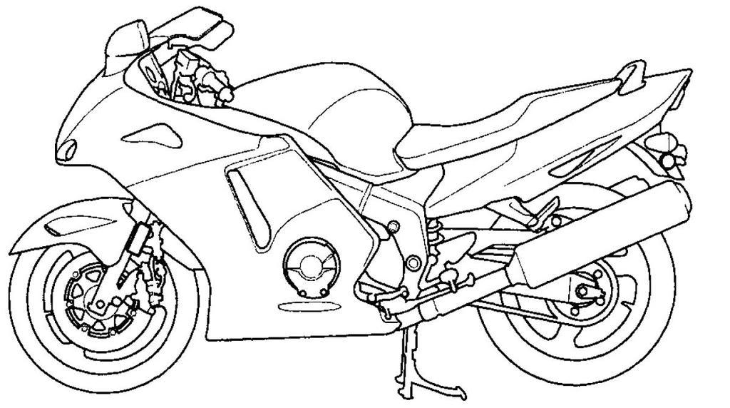 Motos coloring #11, Download drawings