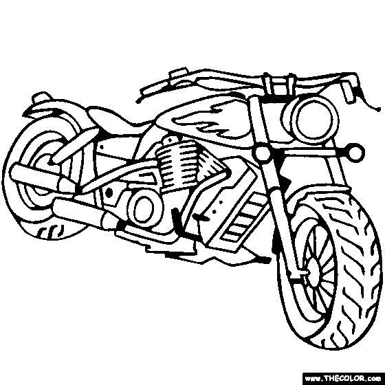 Motos coloring #17, Download drawings
