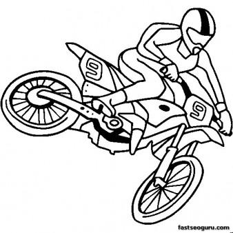 Motos coloring #12, Download drawings