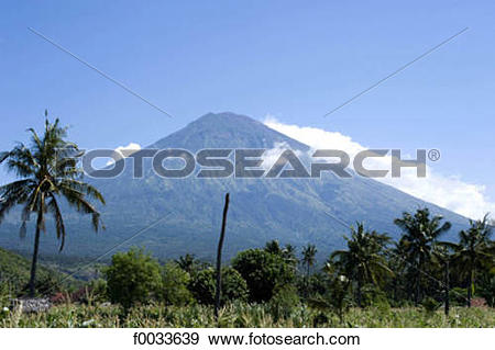 Mount Agung clipart #1, Download drawings