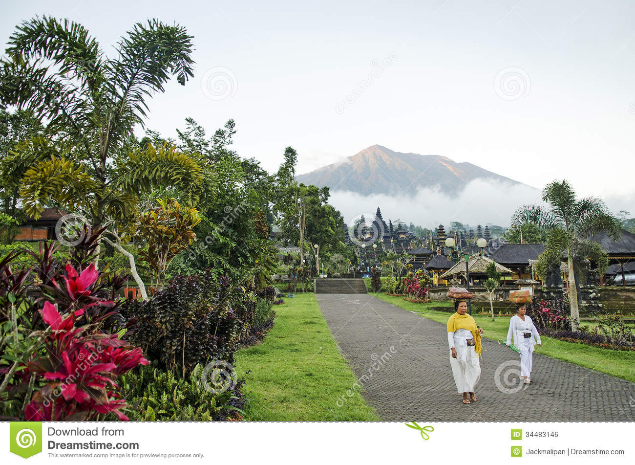 Mount Agung clipart #13, Download drawings