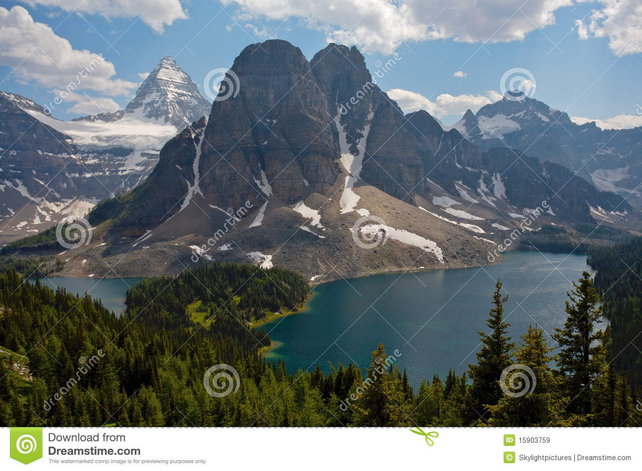 Mount Assiniboine clipart #15, Download drawings