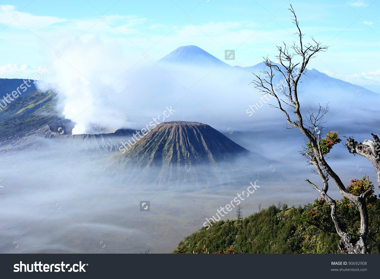 Mount Bromo clipart #2, Download drawings