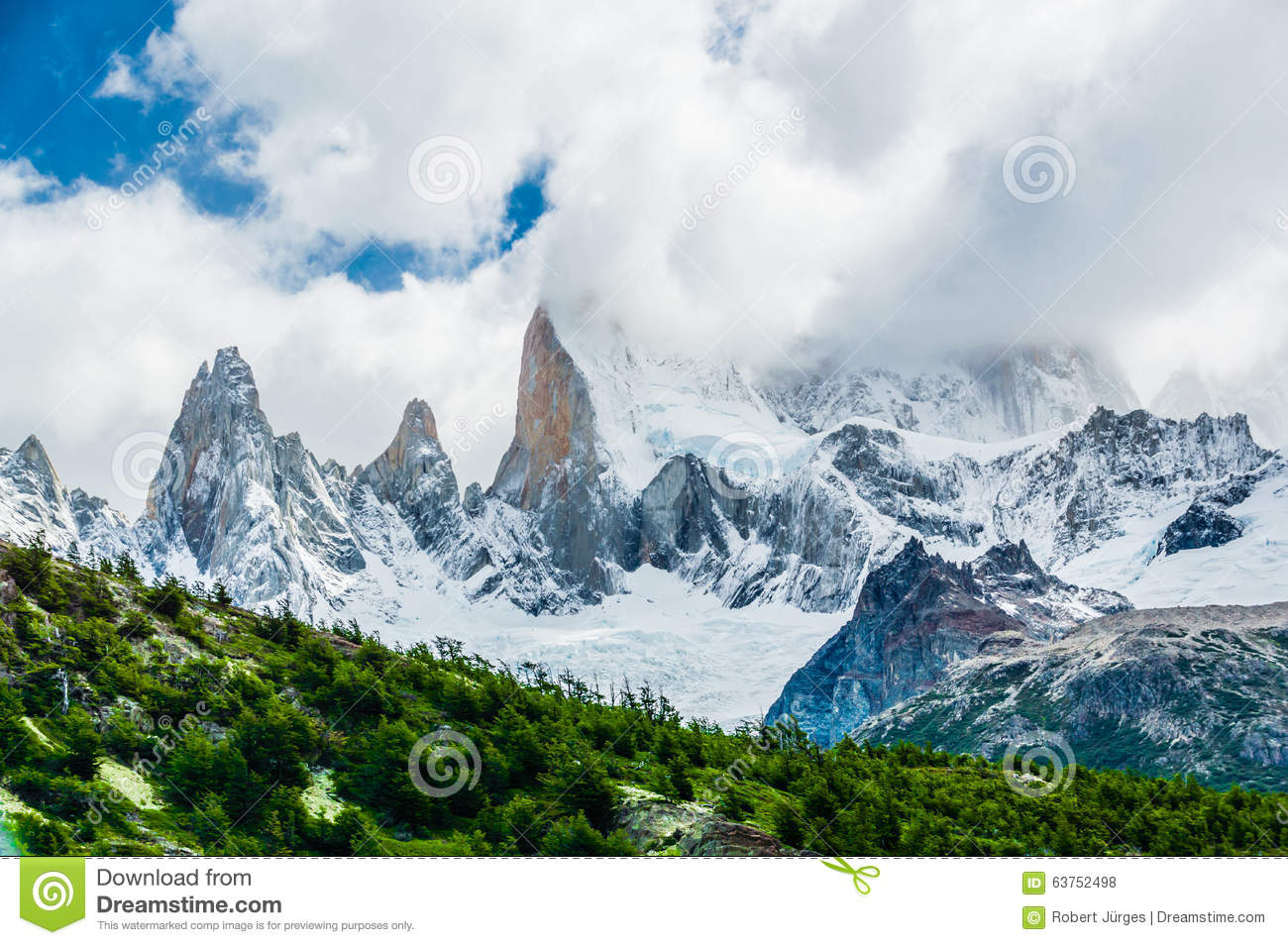 Mount Fitzroy clipart #1, Download drawings