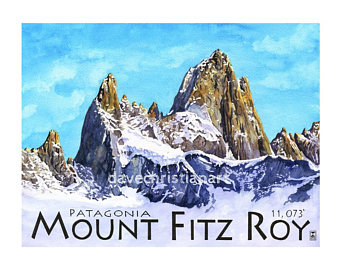 Mount Fitzroy coloring #15, Download drawings