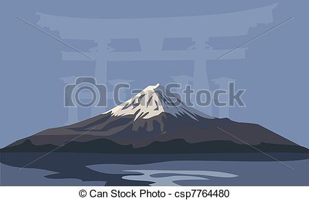 Mount Fuji clipart #8, Download drawings