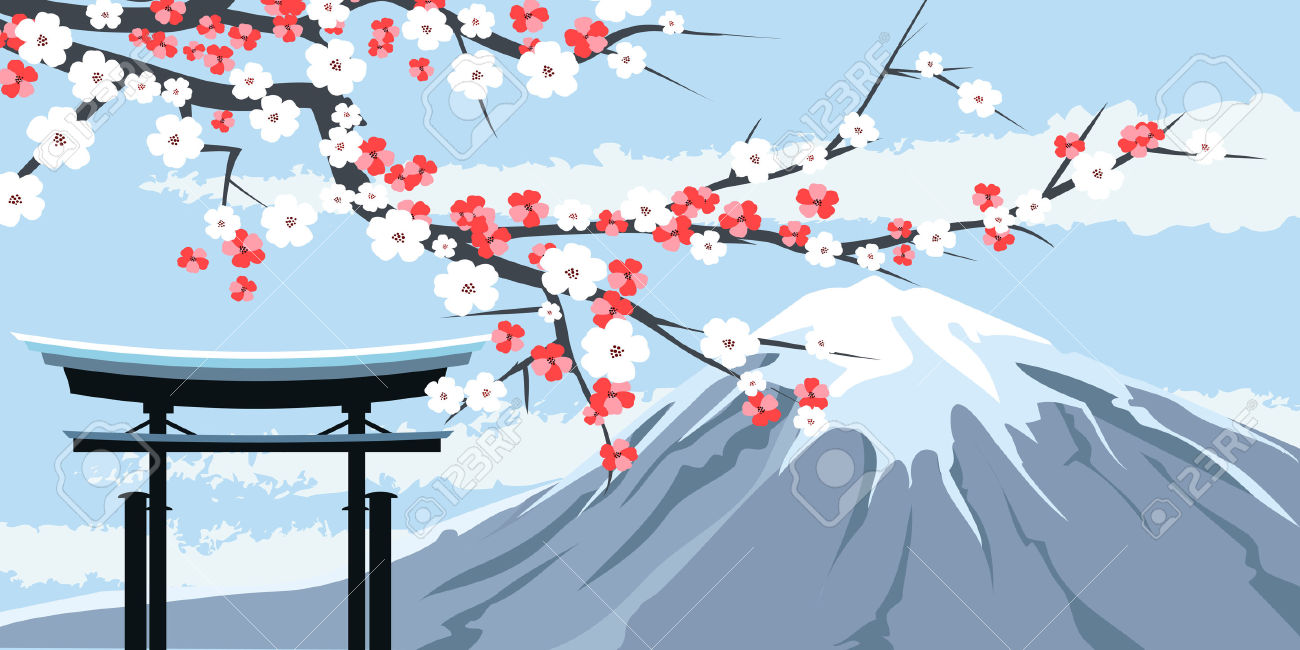 Mount Fuji clipart #17, Download drawings