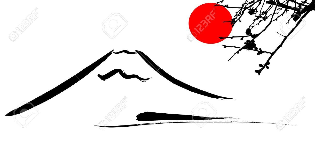 Mount Fuji clipart #16, Download drawings