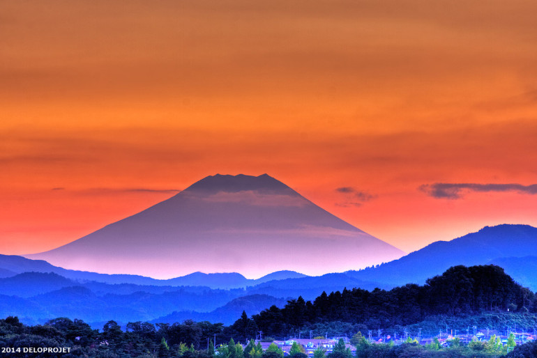 Mount Fuji coloring #20, Download drawings