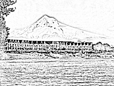 Mount Hood coloring #3, Download drawings