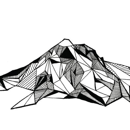 Mount Hood coloring #9, Download drawings