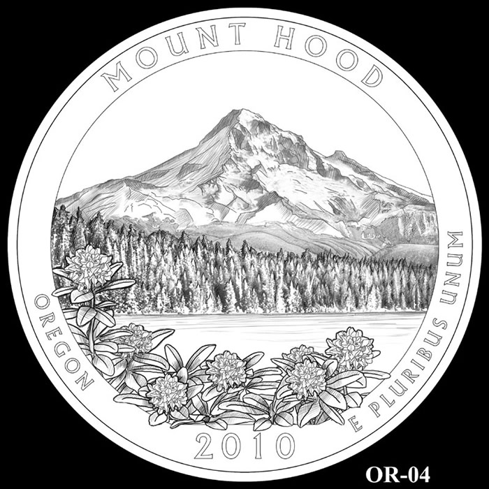 Mount Hood coloring #2, Download drawings