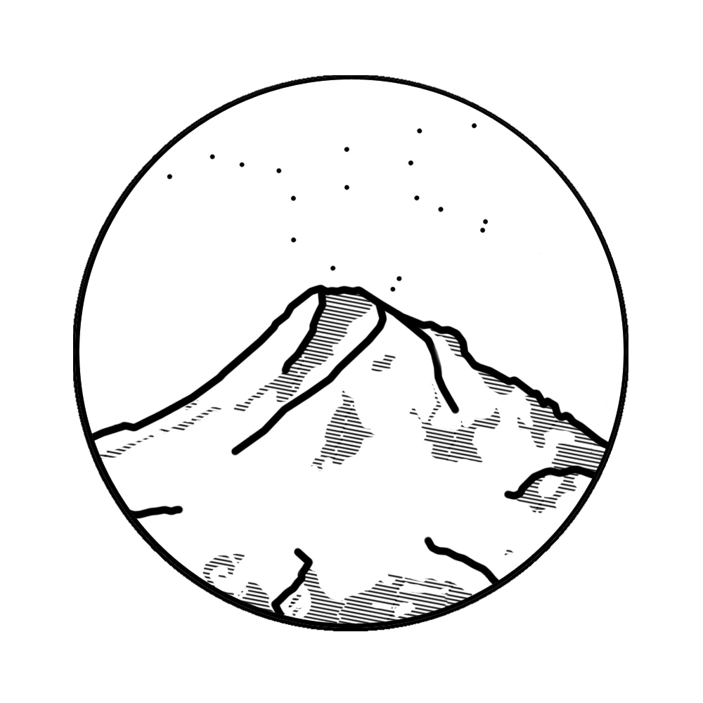Mount Hood coloring #17, Download drawings