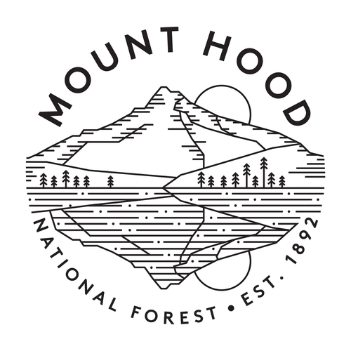 Mount Hood coloring #7, Download drawings