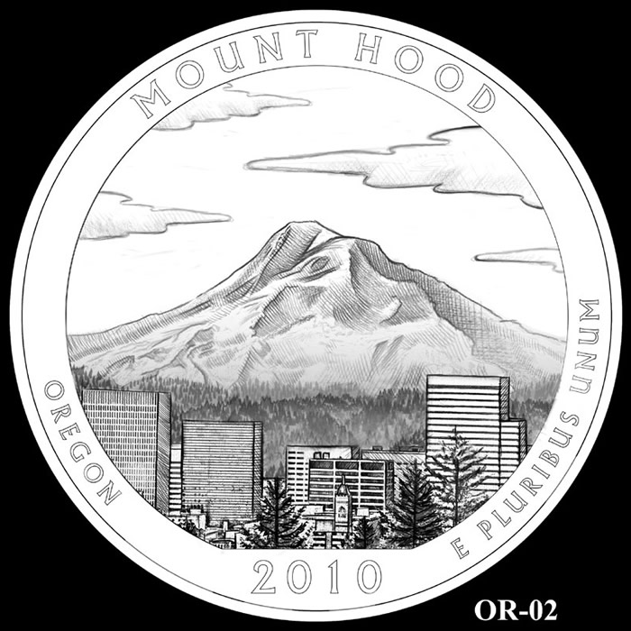 Mount Hood coloring #5, Download drawings