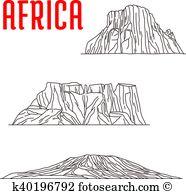 Mount Kilimanjaro clipart #9, Download drawings