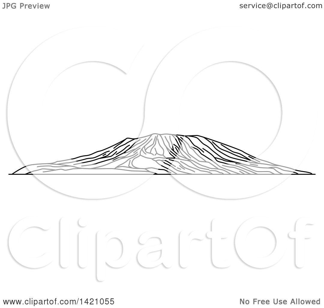 Mount Kilimanjaro clipart #4, Download drawings