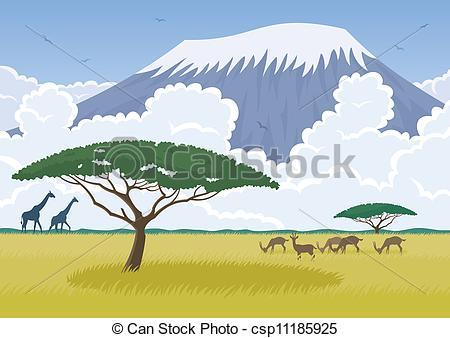 Mount Kilimanjaro clipart #20, Download drawings