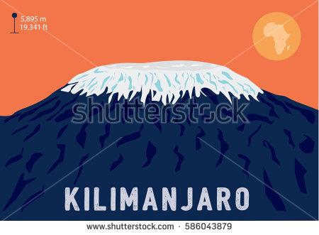 Mount Kilimanjaro clipart #15, Download drawings