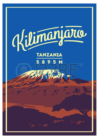 Mount Kilimanjaro clipart #1, Download drawings