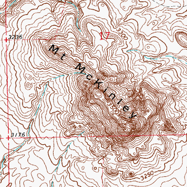 Mount McKinley coloring #20, Download drawings