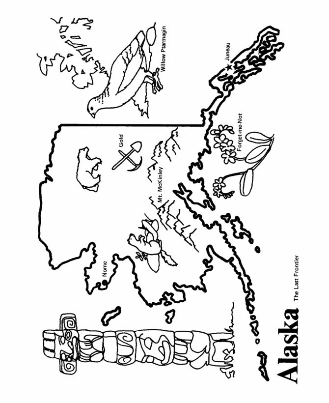 Mount McKinley coloring #11, Download drawings