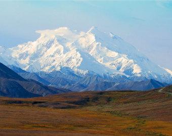Mount McKinley coloring #14, Download drawings
