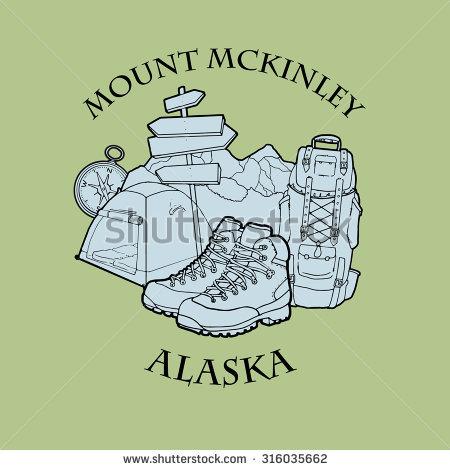 Mount McKinley coloring #5, Download drawings