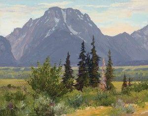 Mount Moran coloring #11, Download drawings