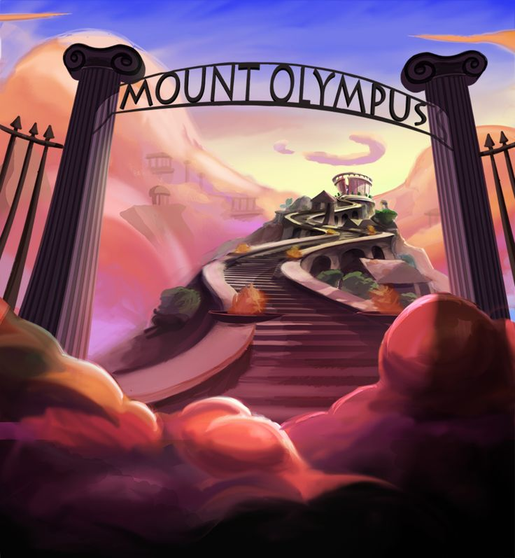 Mount Olympus clipart #5, Download drawings