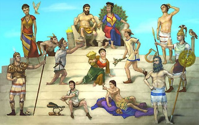 Mount Olympus clipart #1, Download drawings