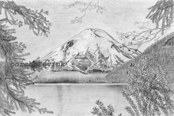 Mount St. Helens clipart #7, Download drawings