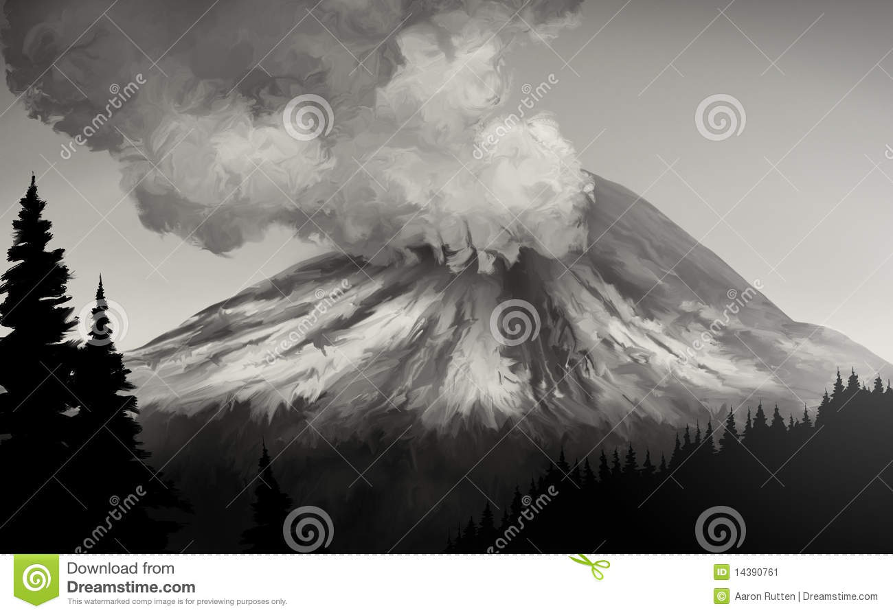 Mount St. Helens clipart #2, Download drawings