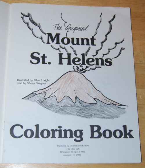 Mount St. Helens coloring #18, Download drawings