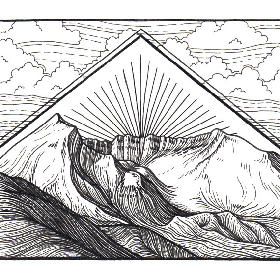 Mount St. Helens coloring #16, Download drawings