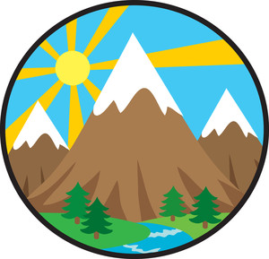 Mountain clipart #4, Download drawings