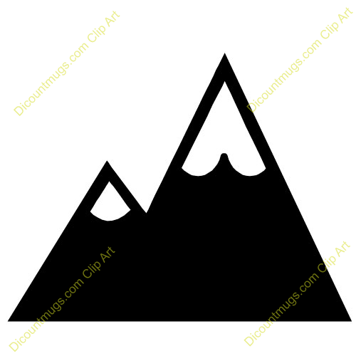 Mountain clipart #1, Download drawings