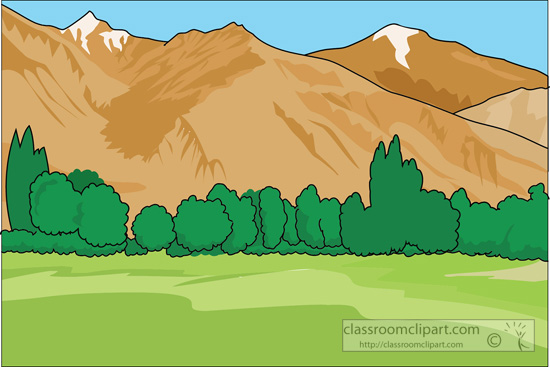 Mountain clipart #3, Download drawings