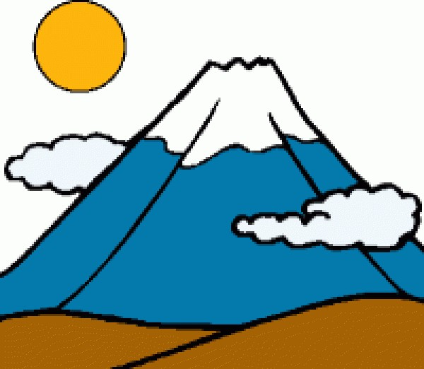 Mountain clipart #7, Download drawings