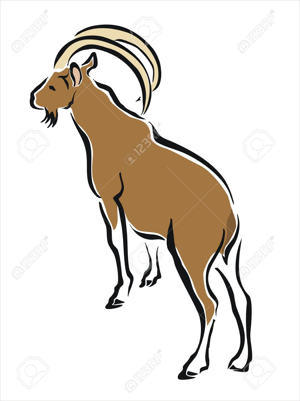 Mountain Goat clipart #3, Download drawings