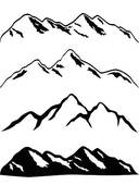 Mountain Ridge clipart #12, Download drawings