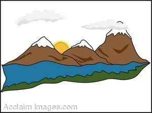 Mountain Ridge clipart #1, Download drawings