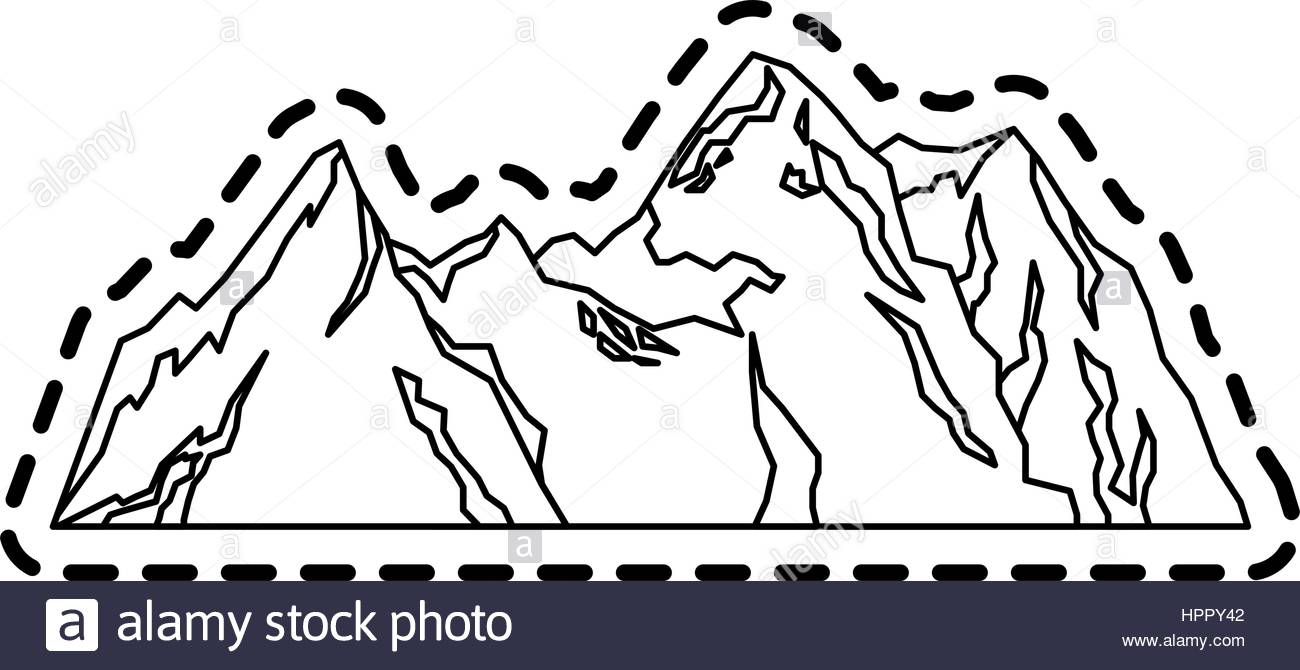 Mountain Ridge coloring #8, Download drawings