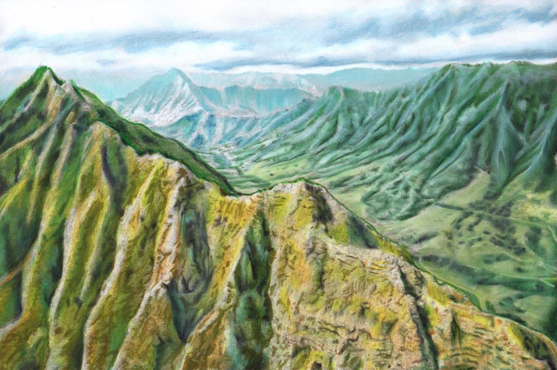 Mountain Ridge coloring #3, Download drawings